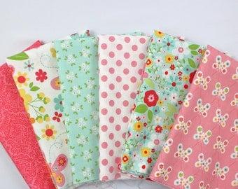 Garden Girl Riley Blake Fabric Bundle