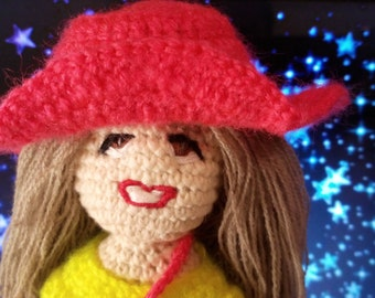 Crochet toy Amigurumi Doll Kids toy