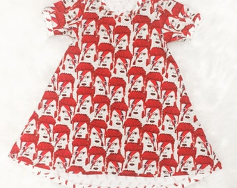 18/24m-5/6T David Bowie dress