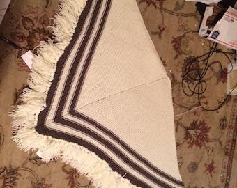 Hand made shawl. Based on civil war era pattern