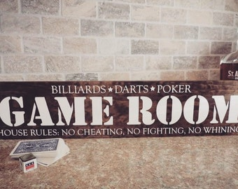 Game Room - Sign