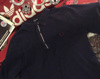 Fred Perry long sleeve polo mens