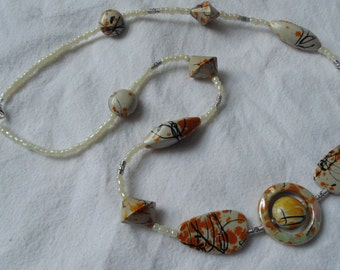 Handmade necklace casual