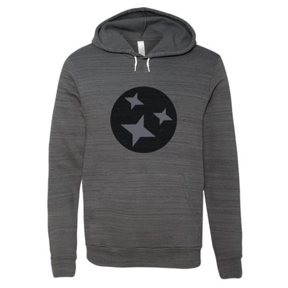 Unisex Hooded Pullover Sweatshirt// Nashville Southern Activewear- Grey