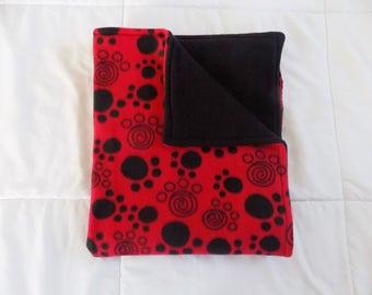 Paw Print Fleece Blanket - Pet Fleece Blanket