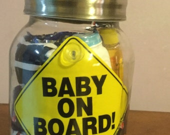 Baby gift in a jar