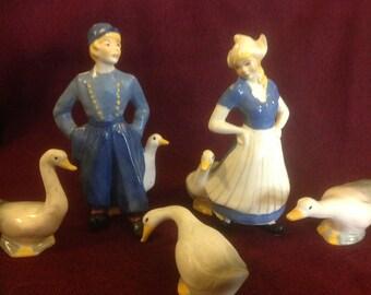 Brayton Dutch Couple with Geese