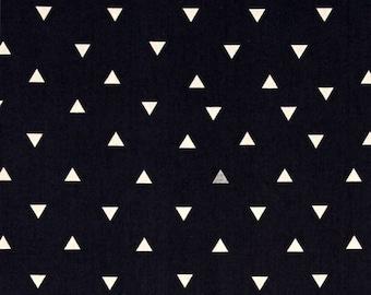 Navy Triangle Token by Art Gallery Fabrics