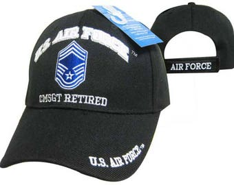 US Air Force Command Master Sergeant Retired Cap