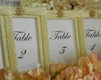 Frames, Weddings, Decorations, Table Number Frames, Table Numbers, Table Names, Great Gatsby Wedding, Wedding Frames, Fall We, Ivory Wedding