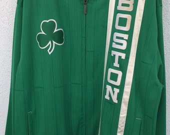 Boston Celtic NBA Warm Up Jacket
