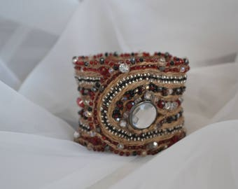 Handmade bracelet in the style of Morocco