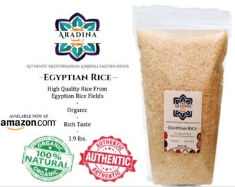 Aradina , All natural Egyptian Rice 1.9lb