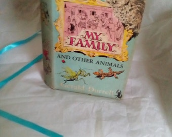 My Family and Other Animals, Gerald Durrell, first edition 1956 with dust jacket. Vintage book.