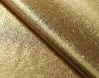 Metallic Gold Stretch Fabric