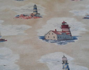 Decorative fabric lighthouses