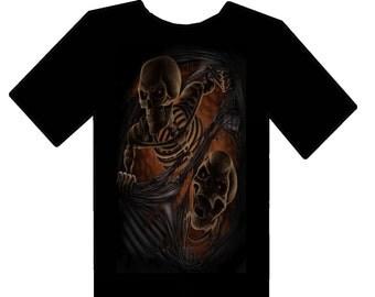 Custom skeleton T shirts