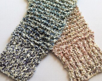 Chunky Knit Scarf, Multicolored (Tudor)