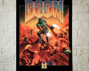 Doom Video game artwork decor poster