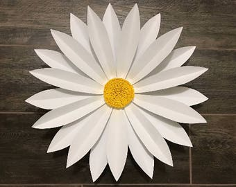 Giant Paper Flowers, Giant paper flower Daisy - Gerbera daisies - Cardstock Daisy. Giant Paper Daisies
