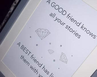 A4 Friendship Picture Frame