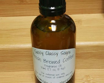 Fresh Brewed Coffee Fragrance Oil 30 ml or 50 ml