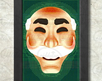 F Society Poster Print A3+ 13 x 19 in - 33 x 48 cm Mr Robot Buy 2 get 1 FREE