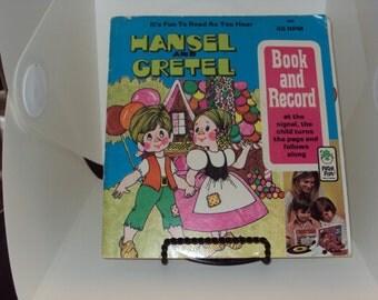 Peter Pan Book and Record Hansel & Gretel 1948