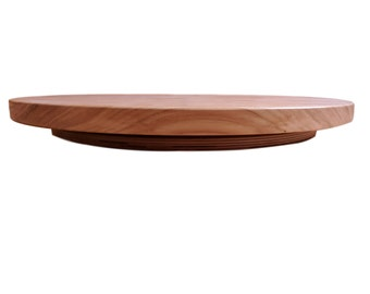 Lazy Susan, Centerpiece, Hickory Wood