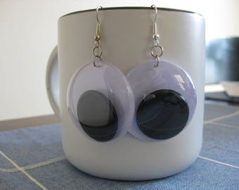 Jumbo Googley Eye Earrings