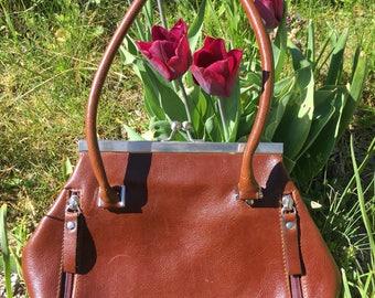 A small brown bag
