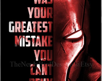 I Was Your Greatest Mistake, You Can't Deny That 8x10 Print