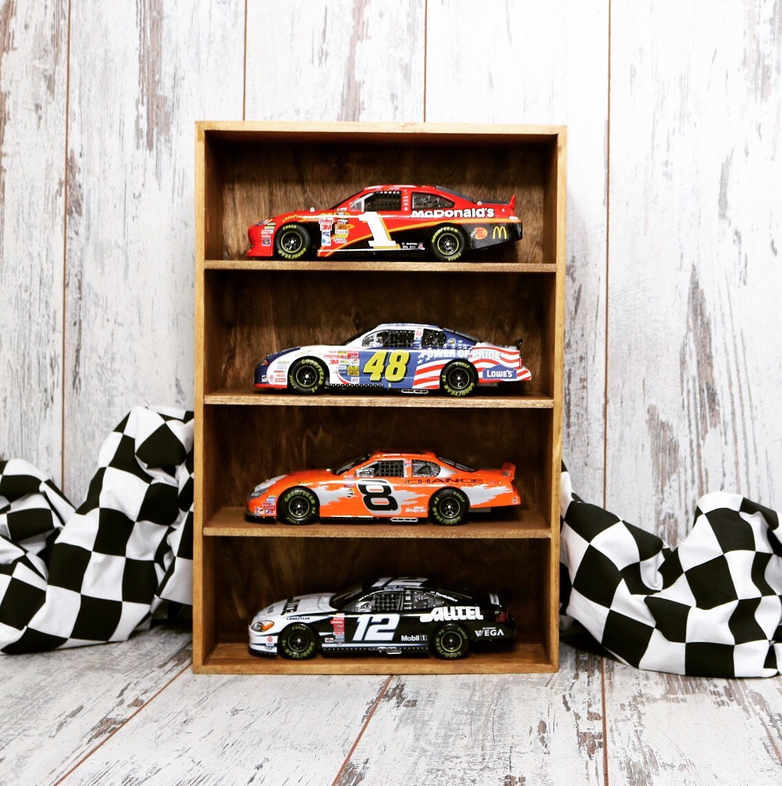 Display Case, Nascar Display Case, Nascar Gift, Diecast
