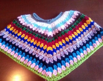 Handmade Baby poncho