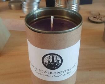 Upcycled Vegan Soy Aromatherapy Candle