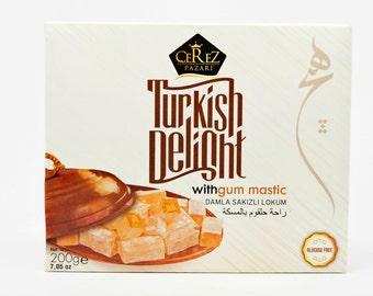 Turkish Delight (Gum Mastic) Lokum (7 0z)