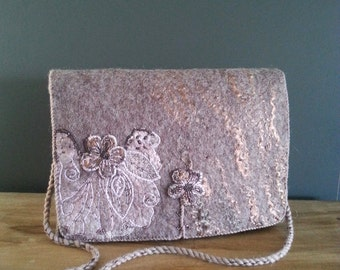 Beautiful felted bag