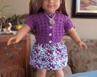 Spring Sweater & Matching Skirt