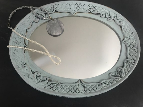 Shabby Chic Vanity Tray Mirror- Blog Photography Props Perfect for Creative Beauty Bloggers