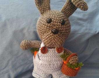 Mr Bunny Crocheted stuffed toy