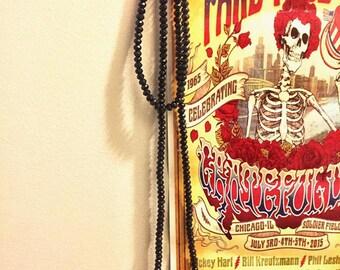 Black Wrap Necklace