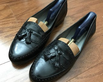 NEW!! VINTAGE Bally Pinch Tassel Loafers
