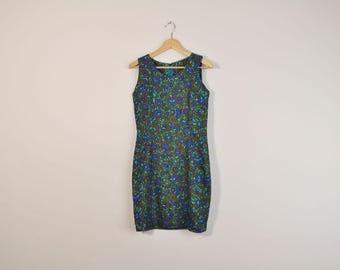 Vintage floral dress - Etsy
