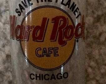Vintage Hard Rock Chicago shot glass.