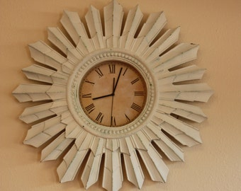 White Washed Clock