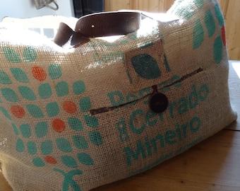Gunny oversize tote bag