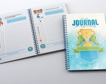 Interactive figure skating journal for the girls
