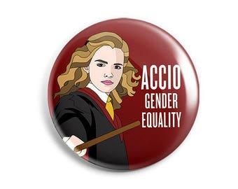 Feminist Hermione Sticker/Button