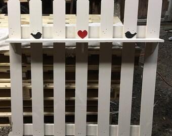 Picket fence decor