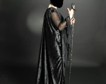 Maleficent costume complete with horns-full Maleficent's Cosplay Costume with horns